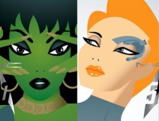 A partnerships between MAC Cosmetics and the Star Trek franchise acknowledges Star Trek's history of strong female characters.