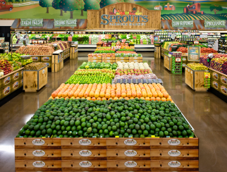 Sprouts Farmers Market ranks No. 23 on this year's chart.