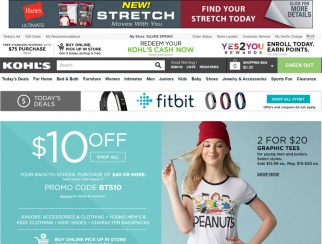 57 percent of Kohl's shoppers say they are more likely to research clothing online.
