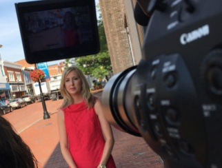 Interviewing MRA President Cailey Locklair Tolle in Annapolis