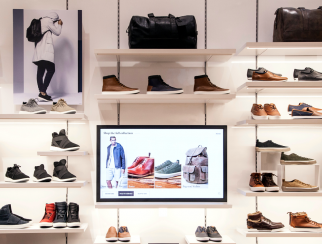 "Aldo's ""endless shelf"" contains detailed information on virtually the entire product line."