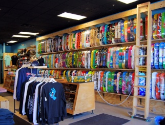 """I can do an entire schedule for full- and part-timers in five minutes,"" says The Point Skate Shop owner Daniel Brodsky."