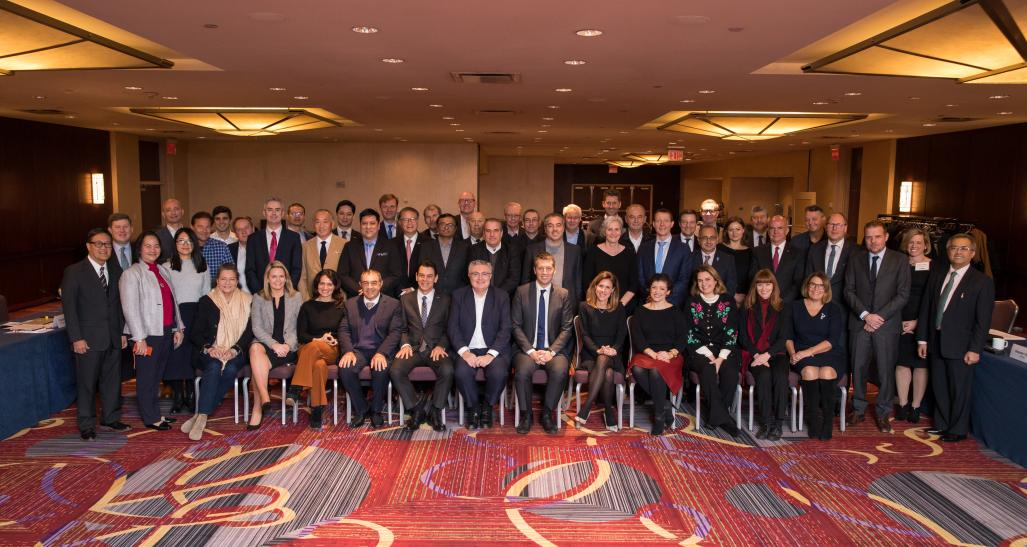 FIRAE committe meeting group photo at retail's big show in NYC 2018