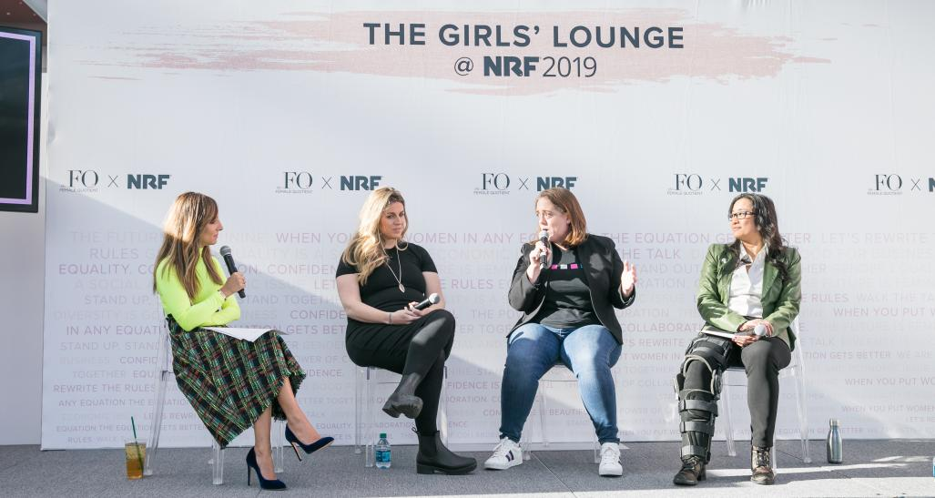 Girl's Lounge at NRF 2019 - Marketing Equality session