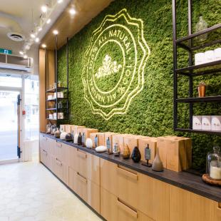 Saje Natural Wellness shop in Malibu