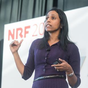 Sucharita Kodali on Innovation Stage at NRF 2019: Retail's Big Show