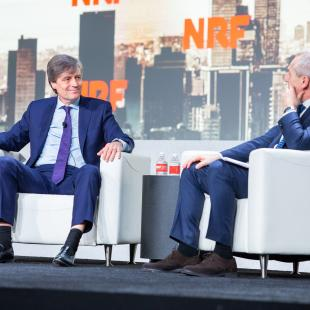 Walgreens CEO on stage at NRF 2019: Retail's Big Show