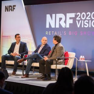 Rich Agostino, Adam Mishler and Dave Estlick speak at NRF 2020