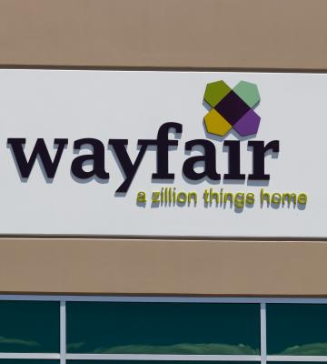 Wayfair store sign