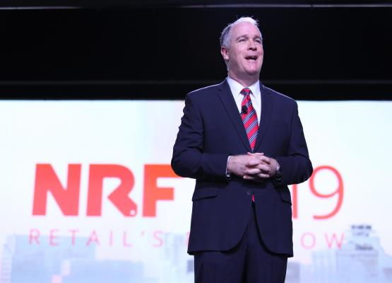 BJ's Chris Baldwin opening keynote at NRF 2019