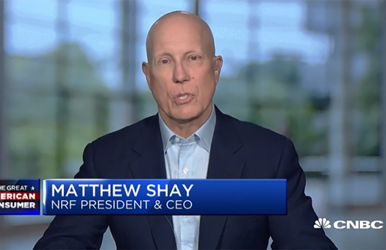 NRF CEO Matthew Shay on CNBC 8-19